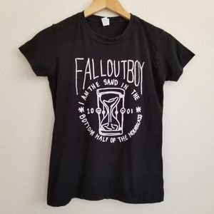 Fall Out Boy 2001 Graphic Band T Shirt M